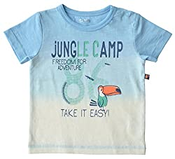 Babeez Baby Boy T-shirt / Tee (100% Cotton) to fit height 80-86cms