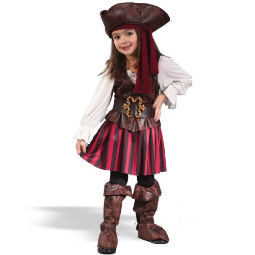 Girl's High Seas Buccaneer Costume