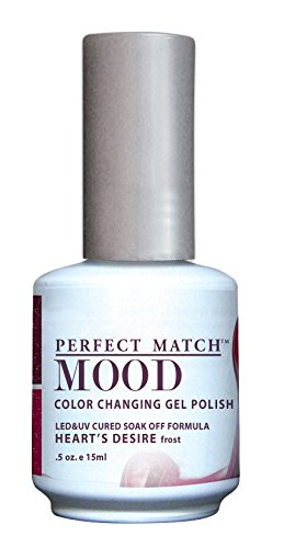 LECHAT Perfect Match Mood Gel Polish, Heart's Desire, 0.500 Ounce (The Mood Polish compare prices)