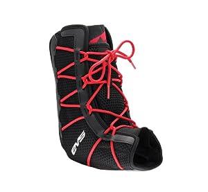 EVS Sports Ankle Brace (Black/Red, Large)