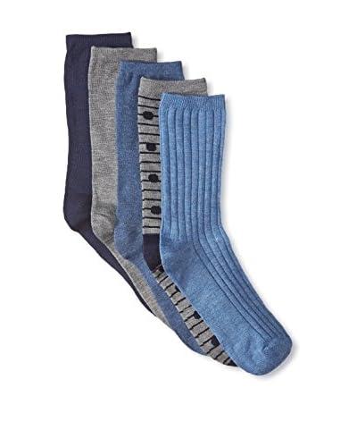 Adrienne Vittadini Women's 5-Pack Crew Socks