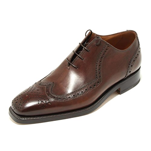2125G scarpa marrone CAMPANILE francesina uomo shoes men [5]
