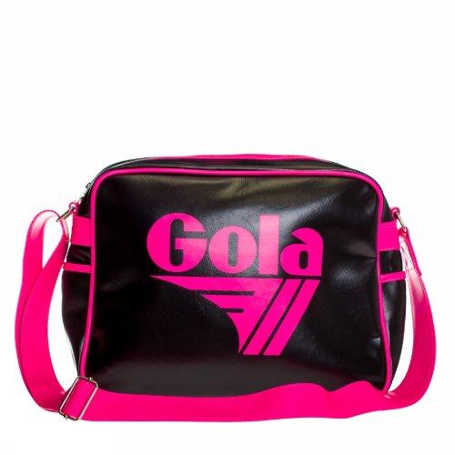BORSA TRACOLLA GOLA REDFORD CUB901 BLACK/NEON PINK cod. 15531
