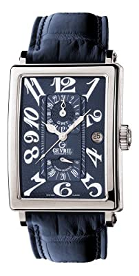 Gevril Men's 5024 Avenue of Americas Automatic GMT Watch