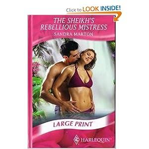 Sheikh's Rebellious Mistress (Romance Lp) Sandra Marton