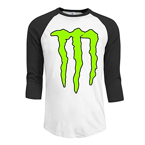 Fashion Men's Energy Claw Tee Black Size L (Monster Energy Necklace compare prices)