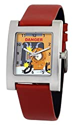 South Park Men's D1520S093 Kuban Collection Kenny Red Leather Watch