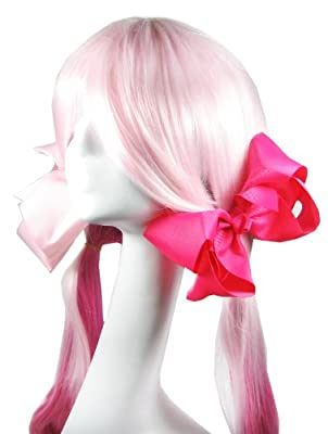 HipGirl Boutique Girls Grosgrain Ribbon Alligator Hair Bow Clips, Barrettes. Perfect to Wear Alone or With Headband, Hat.
