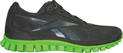 Reebok Reebok Men's RealFlex Running Shoe Lime/Charcoal (10)