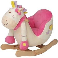 knorr-baby 60002 - Schaukelspielzeug, Schaukelpony Girl