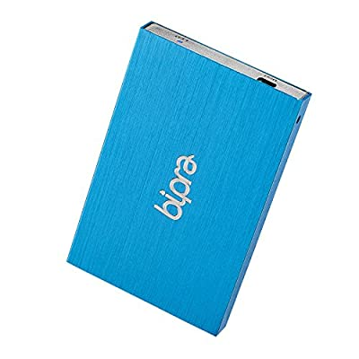 Bipra 160Gb 160 Gb 2.5 Inch External Hard Drive Portable Usb 2.0 - Blue - Ntfs