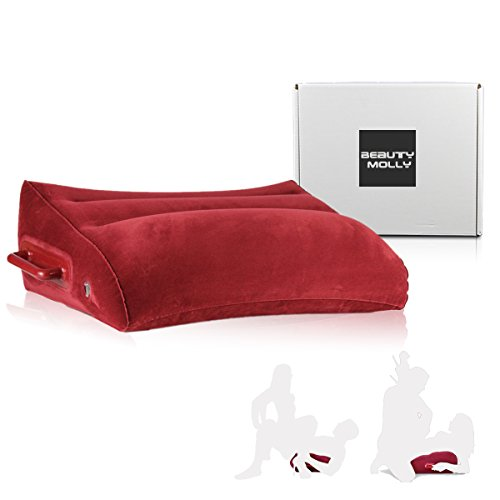 Inflatable Pillow by Beauty Molly wedge shape inflatable position pillow hold up to 300lbs sex furniture for couples