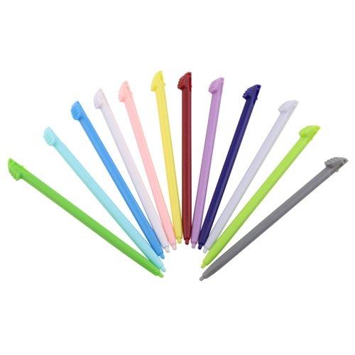 para-nin-3ds-xl-stylus-12pc-negro-gy-pk-blu-pur-rd-ylw-