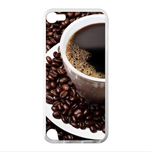 Custom Funny Coffee Art Ipod Touch 5 Tpu (Laser Technology) Case Cover,Cell Phone Cover