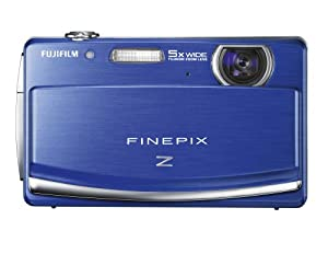 Fujifilm FinePix Z90 14 MP Digital Camera with Fujinon 5x Wide Angle Optical Zoom Lens and 3-Inch Touch-Screen LCD (Blue)