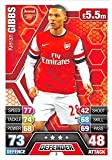 Match Attax 2013/2014 - Arsenal - #3 Kieran Gibbs Base Card