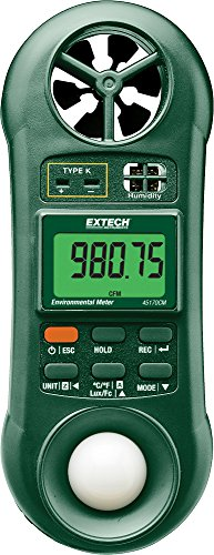 Extech 45170CM 5-in-1 Environmental Meter - 1