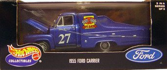 Hot Wheels Collectibles 1955 Ford Carrier 1:43 Scale Diecast Replica