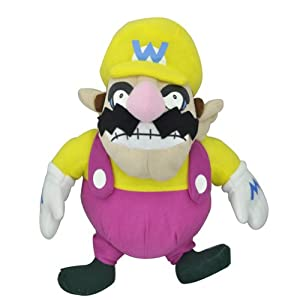 Super Mario Brothers Bros Doll Figure Wario Plushies Toy Stuffed Gift 11""