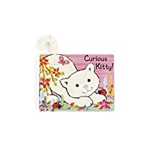 Jellycat Board Books, Curious Kitty - 6 inches