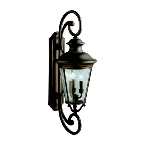 kichler-lighting-9348oz-3-light-claire-outdoor-sconce-olde-bronze