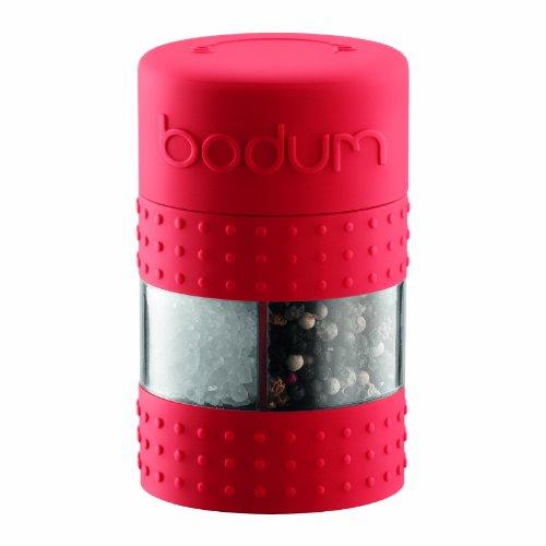 Bodum Bistro Salt and Pepper Grinder, Red