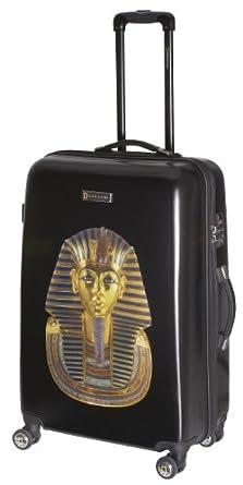 National Geographic Luggage Balboa 28 Inch Hardside Spinner, Black Tut, One Size