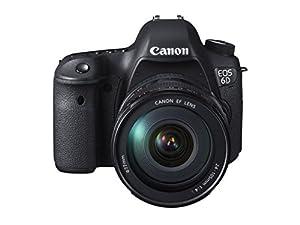 Canon EOS 6D Digital-SLR Kamera (20,2 Megapixel CMOS-Sensor, Live View, Full HD, WiFi, GPS, DIGIC 5+) mit EF 24-105mm 1:4 L IS USM Objektiv Kit