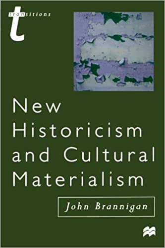 new historicism and cultural studies essay Studies on the history of society and culture of history the essays in part one trace the influence of important models for the new cultural history.