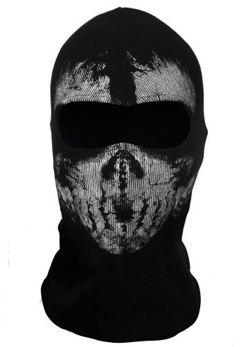 Pixnor® COD Motorcycle Mask Ghost Skull Balaclavas Skiing Airsoft Paintball Game Cosplay Mask (B01)