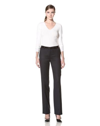 Calvin Klein Women's Kent Classic Flat Front Pant
