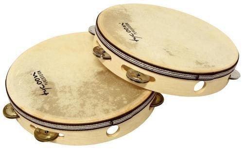 Tycoon Deluxe Wooden Moon Tambourine