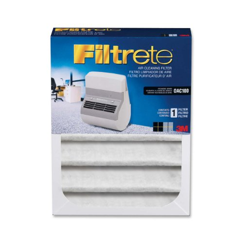 Cheap Filtrete Replacement Filter for Office Air Cleaner OAC100, 7.04 Inches x 9.37 Inches x 2.244 Inches (OAC100RF) (OAC100RF)