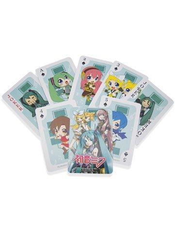 Vocaloid Miku Hatsune Playing Cards Poker Deck - 1