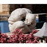Asian Meditating Buddha statue home garden sculpture (large)