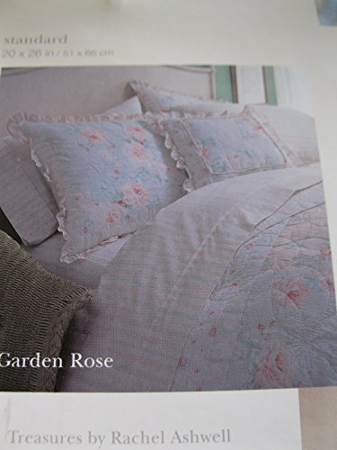 Garden Rose Quilted Sham - Treasures By Rachel Ashwell (Rachel Quilted Bedding compare prices)