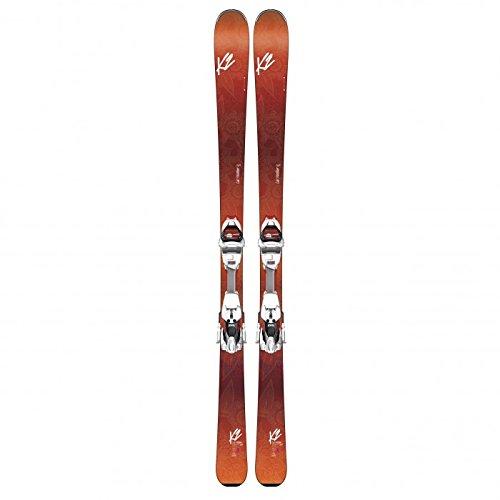 k2-pack-ski-luv-machine-74ti-fixations-erc-11-tp-tcx-light-quikclik-hp-orange-femme-femme-taille-153