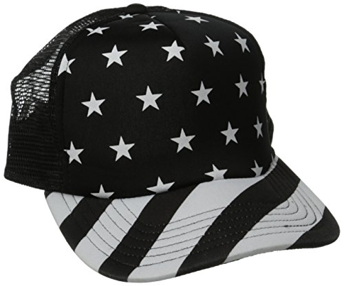 Neff, Cappellino The Hawk Trucker, Nero (Noir), Taglia unica