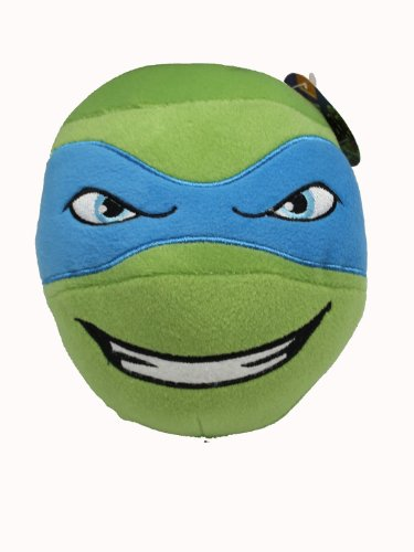 Teenage Mutant Ninja Turtle Head Plush Ball (Leonardo) - 1
