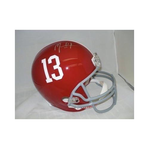 MARK INGRAM Autographed Alabama Crimson Tide FS Helmet   Autographed College Helmets