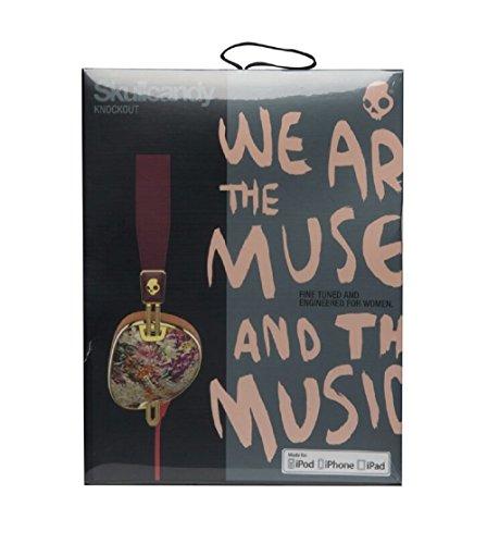 Skull candy earphones purple - headphones skullcandy rose gold