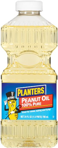 Planters Peanut Oil, 24-Ounce Bottles (Pack of 6)