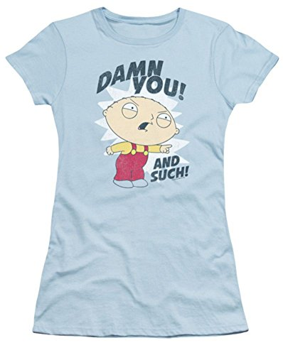 Family Guy And Such Ladies Junior Fit T-Shirt