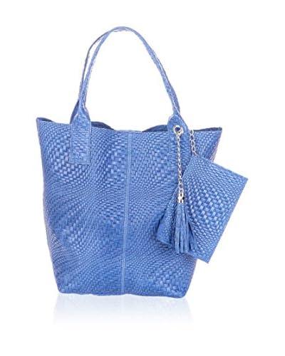 QUEENX BAG Shopper 16006A blau