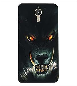 PrintDhaba Wolf D-5136 Back Case Cover for LETV (LE ECO) LE 1 PRO (Multi-Coloured)