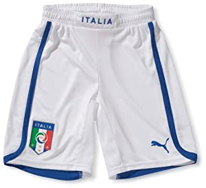2012-13 Italy Euro 2012 Home Football Shorts (Kids)