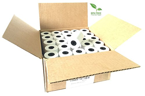 2-1-4-x-85-thermal-credit-card-paper-50-rolls-per-box-for-use-in-some-verifone-omni-hypercom-and-fir