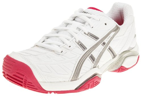 Asics Women's Gel Challenger 8 Womens White/Titanium/Hot Pink Tennis Shoe E152Y 0197 6 UK