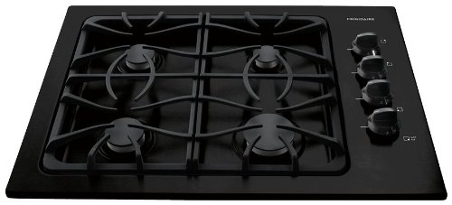 "Frigidaire Ffgc3025Lb 30"" Gas Cooktop With Deep Sump Formed Cooking Area, Sealed Gas Burners And Elect, Black back-142570"