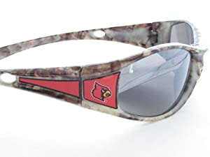 Buy Louisville Cardinals UL Camo Wrap Style Mens Sunglasses S9CM by Sports Accessory Store